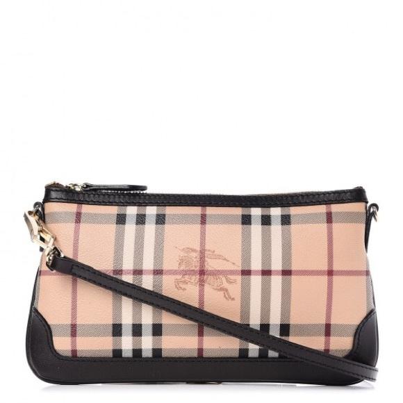 9a461736b9b Burberry Handbags - BURBERRY Haymarket Small Peyton Crossbody Bag